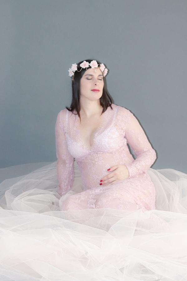 Photographie de femme enceinte